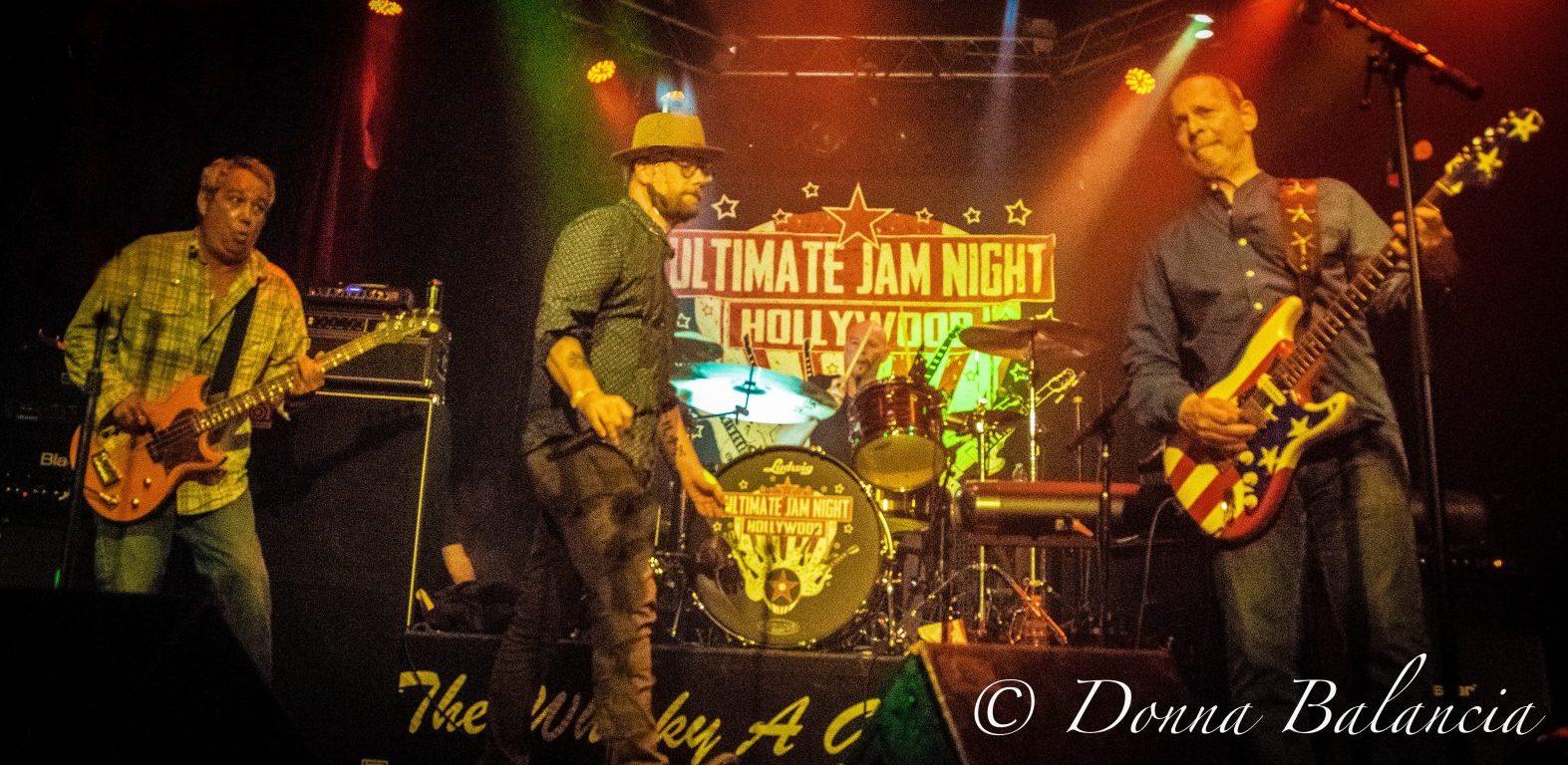 West Coast Rocker - Mike Watt, Mike Doughty, Wayne Kramer by Donna Balancia