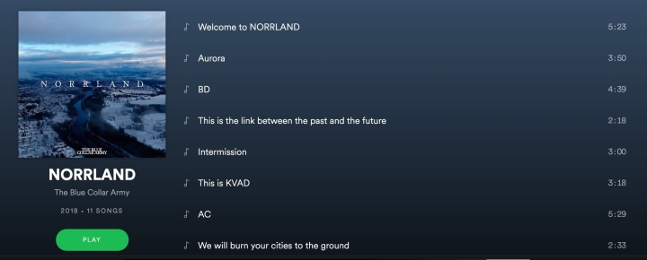Norrland the blue collar army